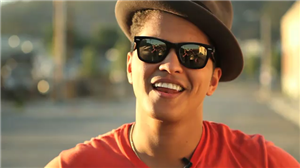 Bruno Mars Screensaver Sample Picture 2